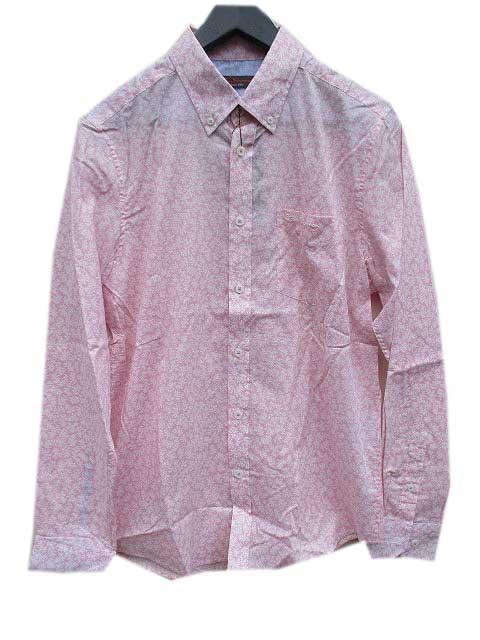 BEN SHERMAN/ベンシャーマン花柄シャツ pink