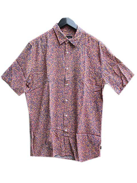 BARNEY COOLSバーニークールスHOLIDAY CAMP-COLLAR SHIRT PINK DITZI