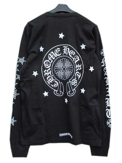 MXLサイズ CHROME HEATRSクロムハーツマリブ限定ロングスリーブTシャツ black