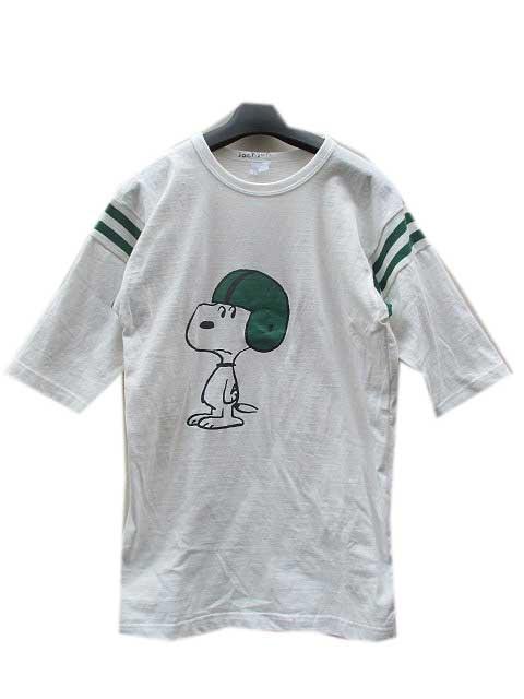 JACKSON MATISSEジャクソンマティスSNOOPY FOOTBALL Tシャツgreen