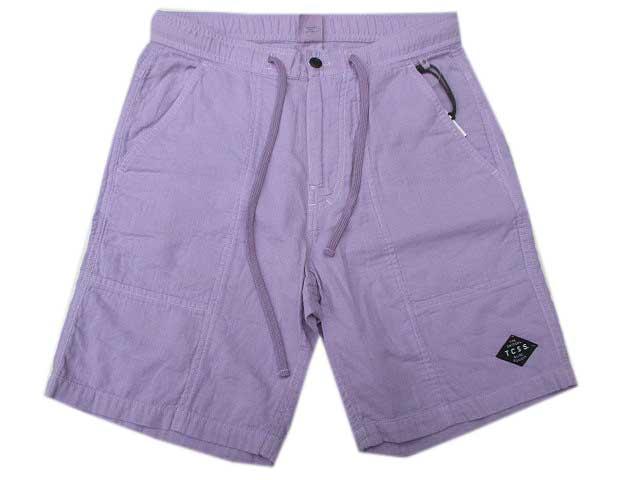 TCSSティーシーエスエスDOUBLE GAUZE SHORT purple