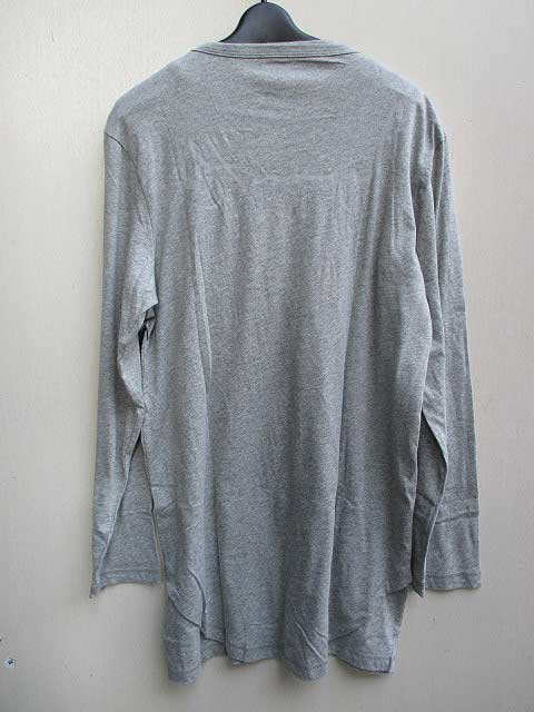 STAMPD スタンプド SIGNATURE DOUBLE LAYER L/S TEE grey