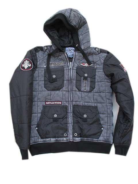 AFFLICTION/アフリクションSTILL STANDING ジャケット