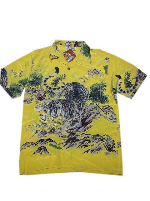AVANTIアロハシャツ[TORA/YELLOW]アバンティーアロハシャツ