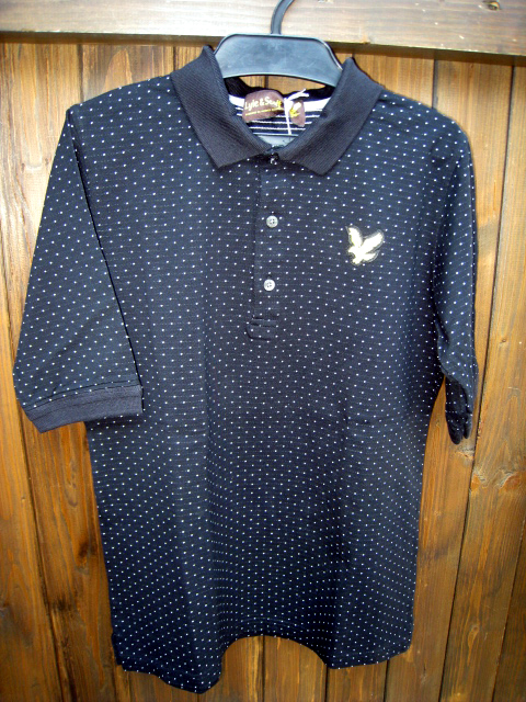 LYLE&SCOTT / ライル&スコットストライプ ポロシャツ