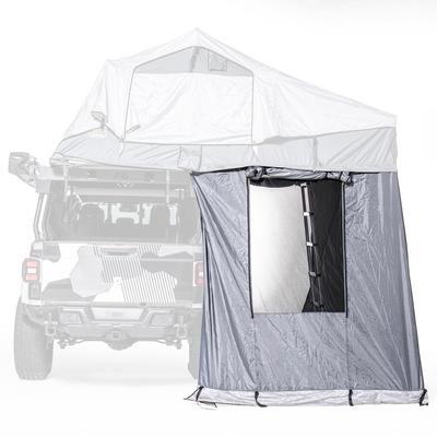 プレゼント 海外直送品 送料無料 キャンプ テント 上質 アウトドア Jeep ジープ ルーフトップ 個室 ルーフテント ルーフトップテント Gray スミティビルト Smittybilt JL ラングラー GEN2XLサイズ用アネックス