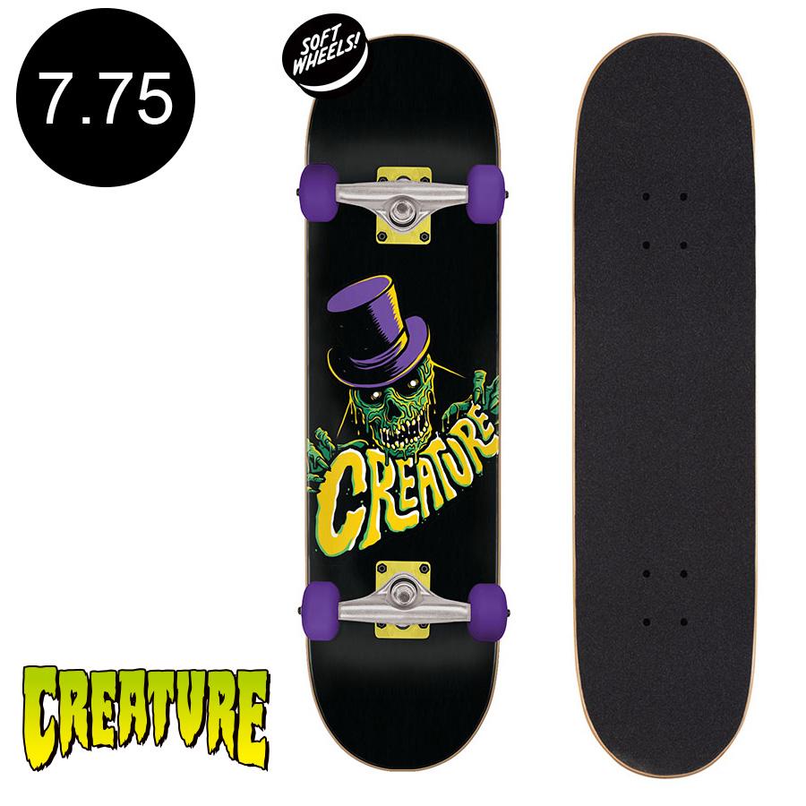 【CREATURE クリーチャー】7.75in x 30in CRYPT KEEPER SK8 COMPLETEコンプリートセット (完成組立品)スケートボード スケボー 初心者 はじめて オススメストリート 競技 プロ sk8 skateboard 【2007】
