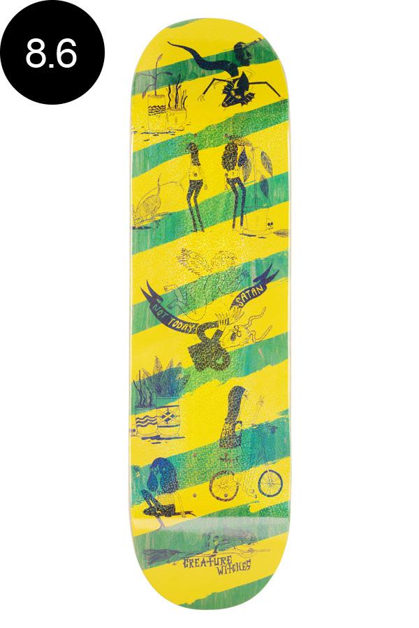 【CREATURE クリーチャー】8.6in x 32.11in SNAKE BARF LG TEAM DECKデッキ スケートボード スケボー ストリート sk8 skateboardデッキテーププレゼント!【1907】