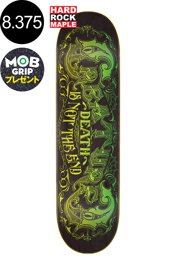 【CREATURE クリーチャー】8.375in x 32in NOT THE END TEAM DECKデッキ スケートボード スケボー ストリート sk8 skateboardデッキテーププレゼント!【2001】