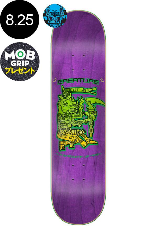 【CREATURE クリーチャー】8.25in x 32in BUSQUEDA DEATH HESH TEAM DECKデッキ コールドプレス スケートボード スケボー ストリート sk8 skateboardデッキテーププレゼント!【2001】