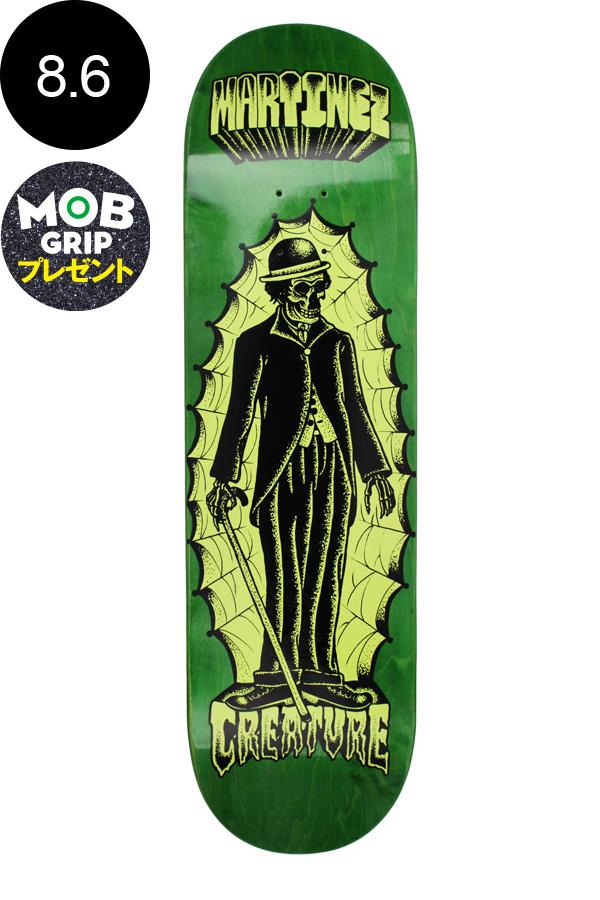 【CREATURE クリーチャー】8.6in x 32.11in MARTINEZ THE IMMIGRANT ONE PRO DECKデッキ ミルトン・マルティネス スケートボード スケボー ストリート sk8 skateboardデッキテーププレゼント!【1707】