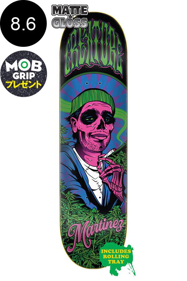 【CREATURE クリーチャー】8.6in x 32.11in MARTINEZ SMOKERS CLUB PRO DECKデッキ ミルトン・マルティネス スケートボード スケボー ストリート sk8 skateboardデッキテーププレゼント!【2001】