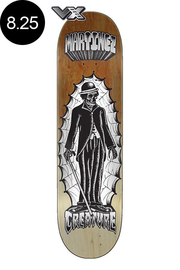 【CREATURE クリーチャー】8.25in x 32.04in MARTINEZ THE IMMIGRANT VX PRO DECKデッキ ミルトン・マルティネス MILTON MARTINEZ スケートボード スケボー ストリート sk8 skateboardデッキテーププレゼント!【2007】