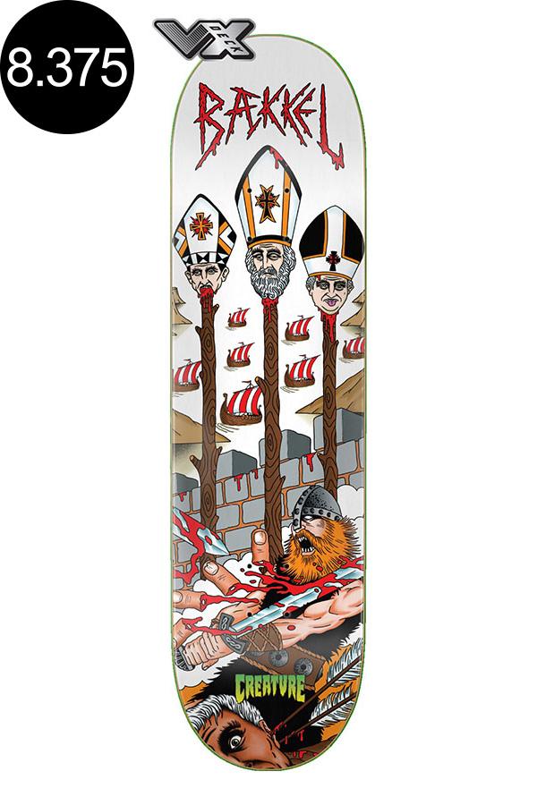 【CREATURE クリーチャー】8.375in x 32in BAEKKEL TOKT VX PRO DECKデッキ ケビン・ベッケル KEVIN BAEKKEL スケートボード スケボー ストリート sk8 skateboardデッキテーププレゼント!【2007】