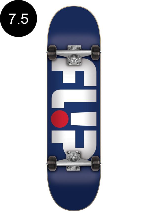 【FLIP フリップ】7.5in x 30.6in ODYSSEY BLUE PATRIOT REGULAR COMPLETEチームコンプリートデッキ(完成組立品)スケートボード エントリーモデル(初心者にもおすすめ)スケボー ストリート sk8 skateboard【1810】