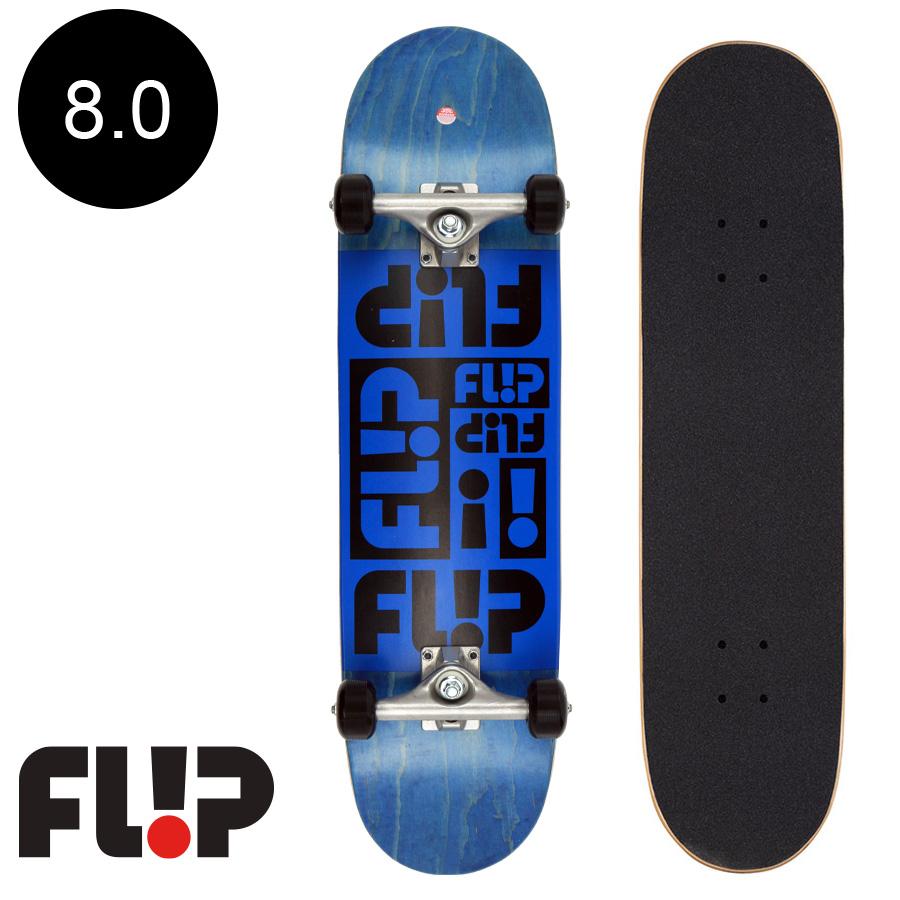 【FLIP フリップ】8.0in X 31.50in MULTI ODYSSEY BLUE REGULAR COMPLETEコンプリート(完成組立品) スケートボード スクリーミングハンド エントリーモデル 初心者 おすすめ スケボー ストリート 初めて 競技 プロ sk8 skateboard【2006】