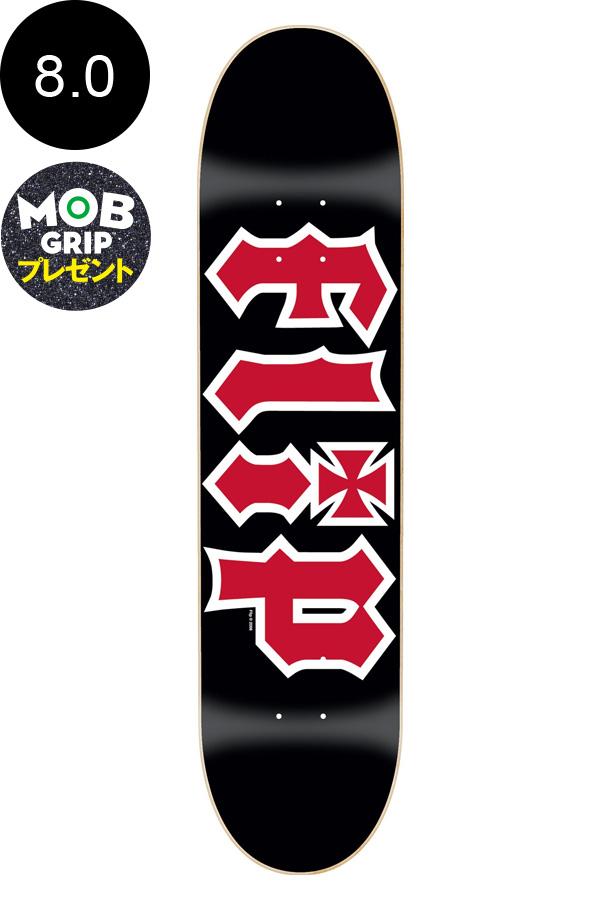【FLIP フリップ】8.00in x 31.50in HKD BLACK TEAM DECKチームデッキ オデッセイ スケートボード スケボー ストリート sk8 skateboard デッキテーププレゼント!【1810】