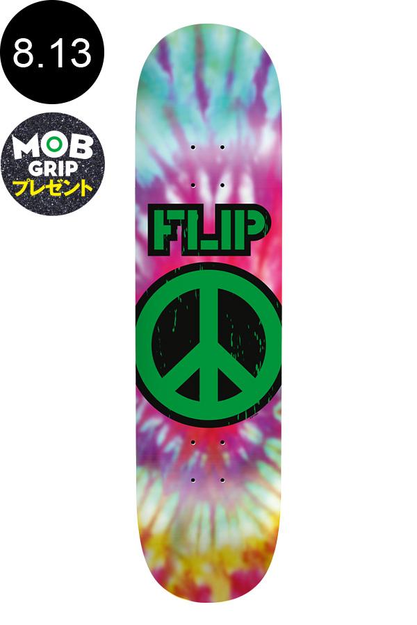 【FLIP フリップ】8.13in x 32.00in PEACE FULLNOSE TEAM DECKチームデッキ ロゴ スケートボード スケボー ストリート sk8 skateboard デッキテーププレゼント!【2001】