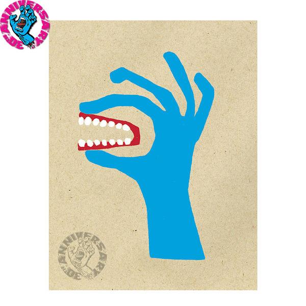 【SANTA CRUZ サンタクルーズ】SCREAMING HAND NATAS HAND PRINTポスター スクリーミングハンド ナタス・カウパス スケートボード スケボー sk8 skateboard