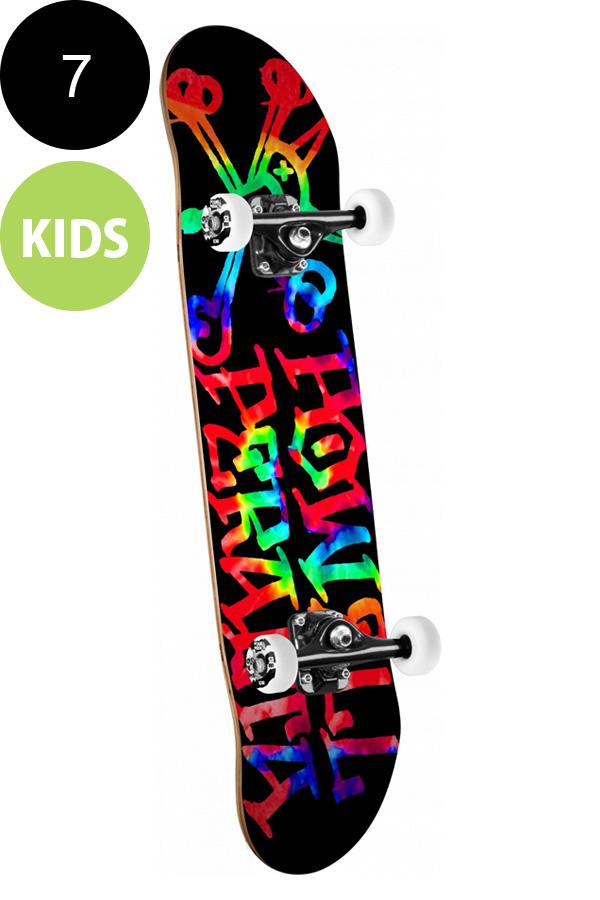 【POWELL PERALTA パウエル・ペラルタ】7in x 28in VATO RAT TIE DYE COMPLETEコンプリートデッキ(完成組立品)※6~8歳前後推奨 初心者 オススメ スケートボード スケボー skateboard sk8【1709】