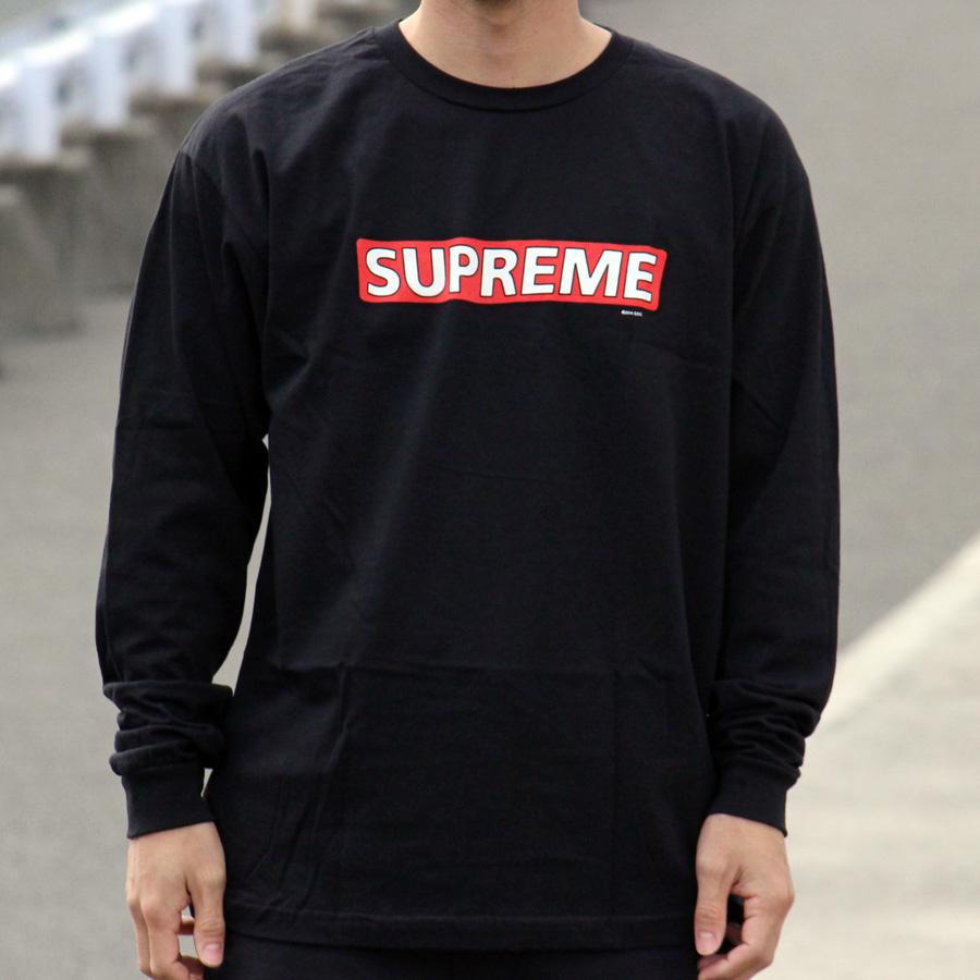 Powell Peralta Skateboard Long Sleeve Shirt Supreme Black
