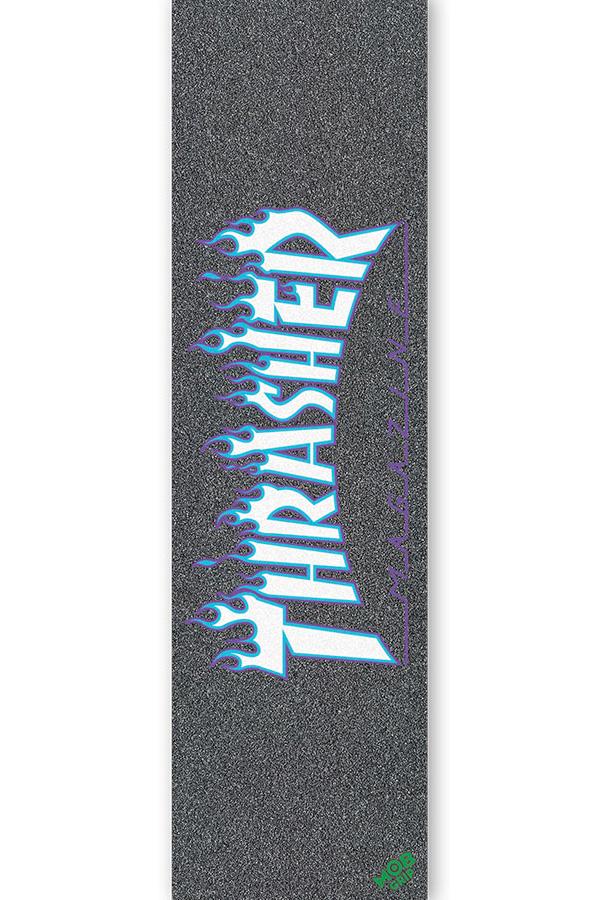 MOB GRIP モブグリップ 9in x 33in THRASHER JAPAN FLAME sk8 直営限定アウトレット SHEETグリップテープ マガジン スケートボード 2011 スケボー skateboard ブランド激安セール会場 デッキテープ スラッシャー