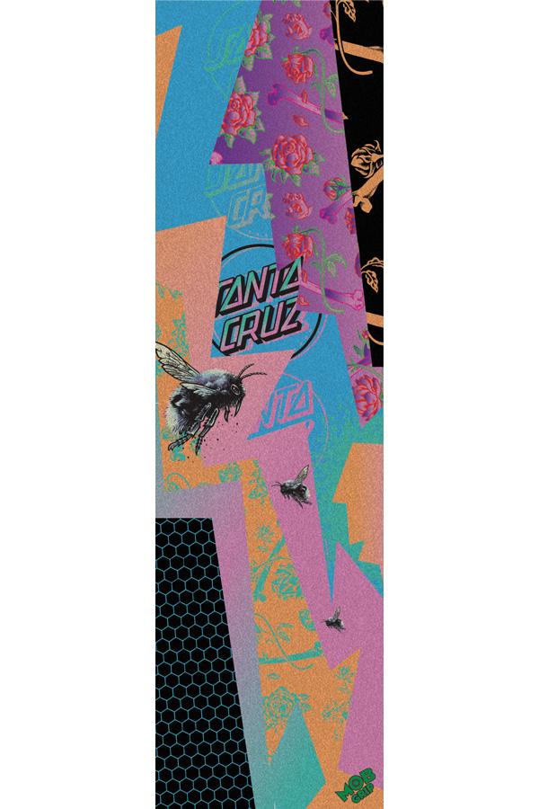 MOB GRIP モブグリップ 9in x ※ラッピング ※ ギフ_包装 33in SANTA CRUZ ULTRAVIOLET スケートボード sk8 サンタクルーズ 2011 SHEETグリップテープ デッキテープ skateboard スケボー