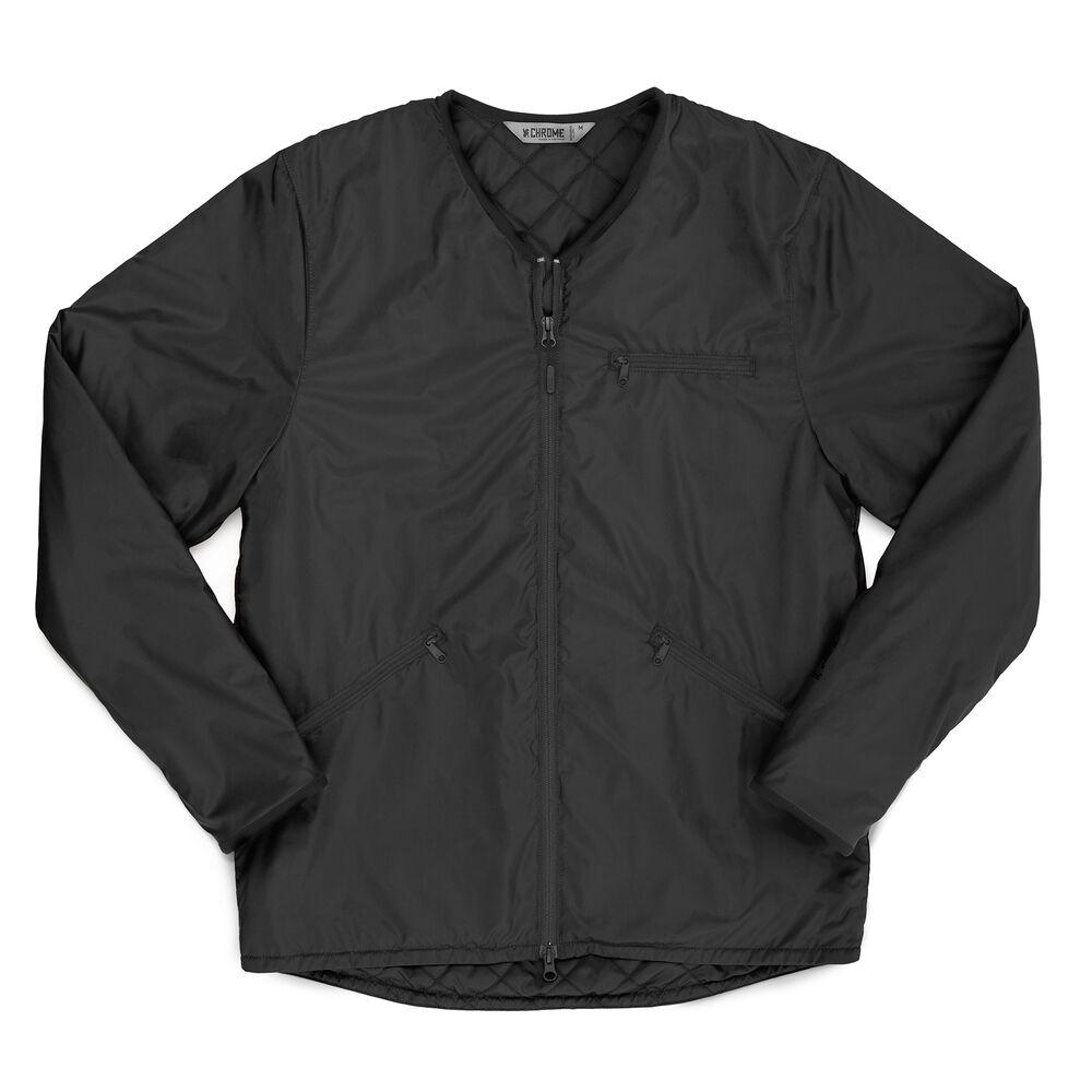 【CHROME クローム】BEDFORD INSULATED JACKET BLACKジャケット ブラック ベッドフォード インシュレイテッド ジャケット メンズ アウター AP-440 skateboard【19FW】
