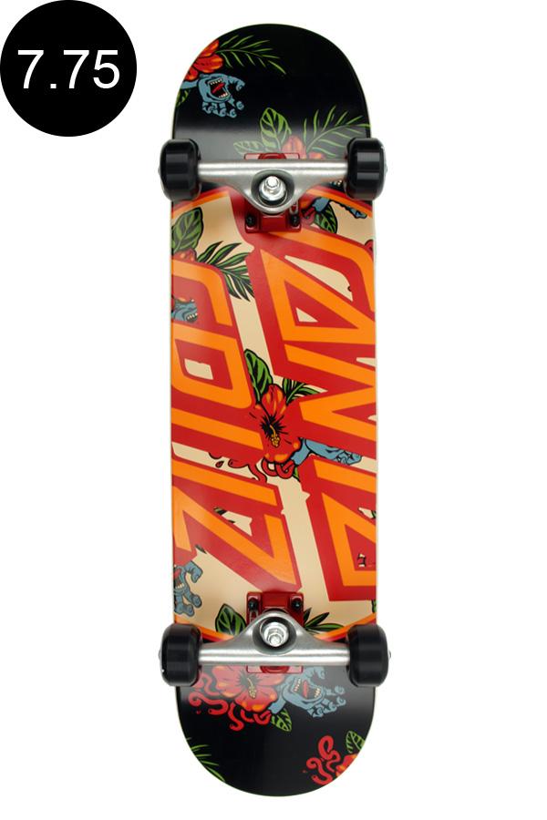 【SANTA CRUZ サンタクルーズ】7.75in x 31.4in VACATION DOT SK8 COMPLETEコンプリート(完成組立品) スケートボード エントリーモデル(初心者にもおすすめ)スケボー ストリート sk8 skateboard【1810】