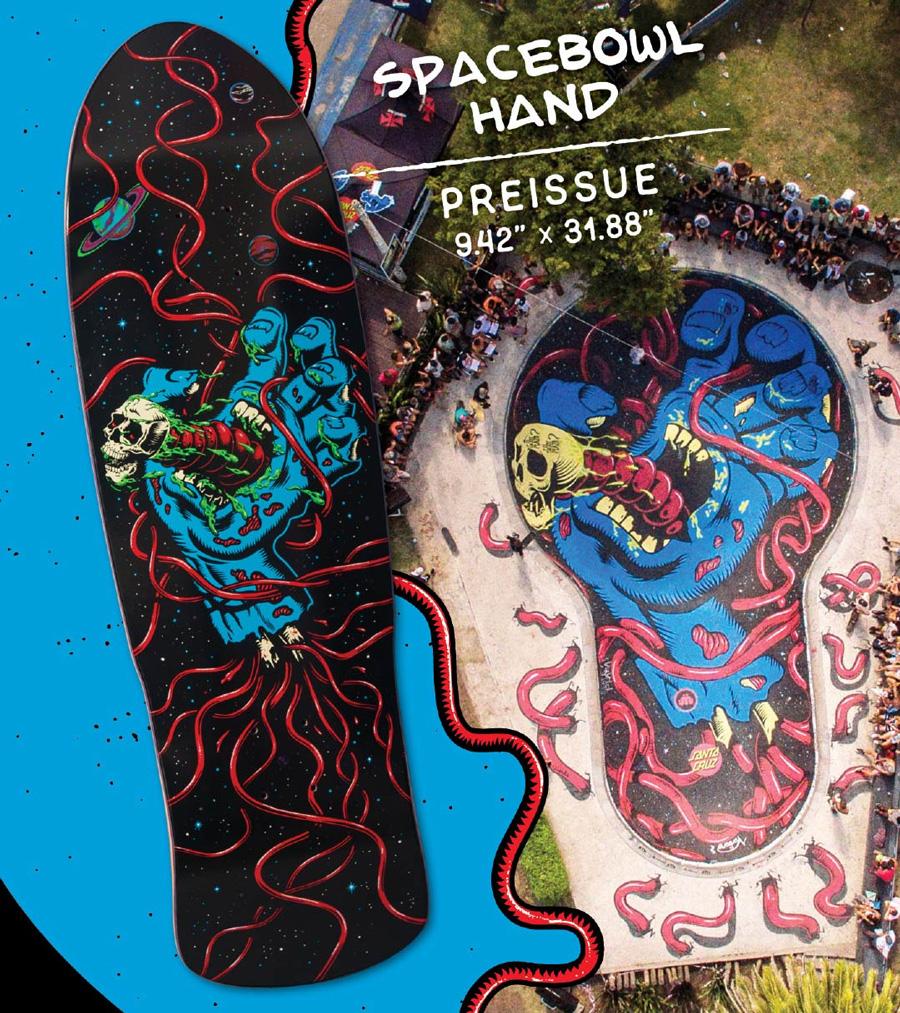 良好品 スケートボード スクリーミングハンド Deckデッキ Team Issue Pre Hand Spacebowl 31 in X サンタクルーズ 9 42in Cruz Santa スケボー Skateboardデッキテーププレゼント 1810 Sk8 ストリート デッキ Www Nuevomodeloenergetico Org