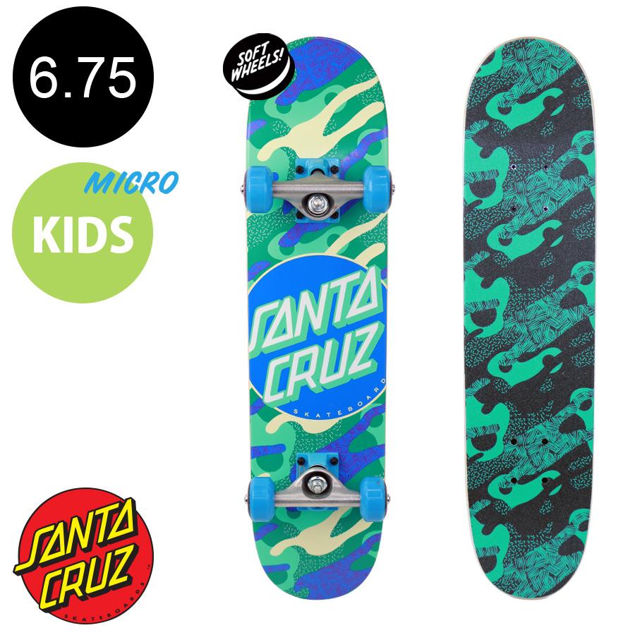 【SANTA CRUZ サンタクルーズ】6.75in x 28.5in PRIMARY DOT COMPLETEコンプリートデッキ(完成組立品)※5歳前後推奨 初めて スケートボード (初心者 子供用におすすめ)スケボー sk8 skateboard【2001】