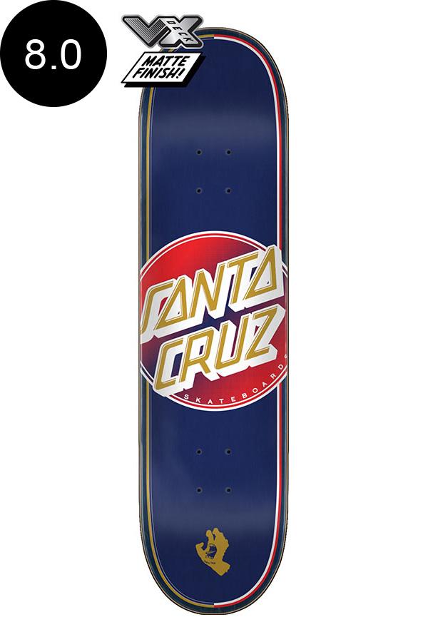 【SANTA CRUZ サンタクルーズ】8.0in x 31.6in STEADFAST DOT VX TEAM DECKデッキ スケートボード スケボー ストリート sk8 skateboard【2007】