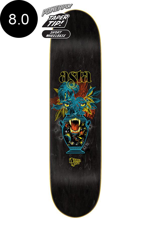 【SANTA CRUZ サンタクルーズ】8.0in x 31.50in ASTA COSMIC EYES TAPER TIP POWERPLY PRO DECKデッキ トム・アスタ パワープライ スケートボード スケボー ストリート sk8 skateboard【2007】