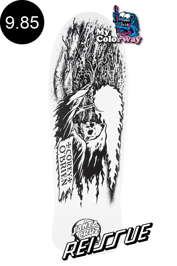 【SANTA CRUZ サンタクルーズ】9.85in x 30in OBRIEN REAPER MY COLORWAY REISSUE DECKデッキ コーリー・オブライエン COREY O'BRIEN オールドスクール 復刻 スケートボード スケボー【2007】