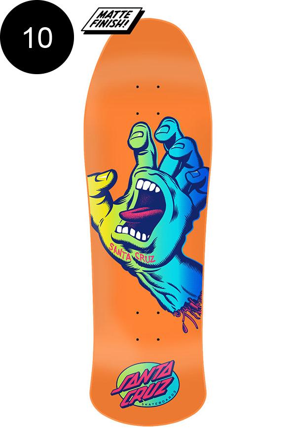 【SANTA CRUZ サンタクルーズ】10.0in x 31.75in SCREAMING HAND PREISSUE TEAM DECKデッキ プレイシュー スクリーミングハンド オールドスクール スケートボード スケボー ストリート sk8 skateboard【2005】