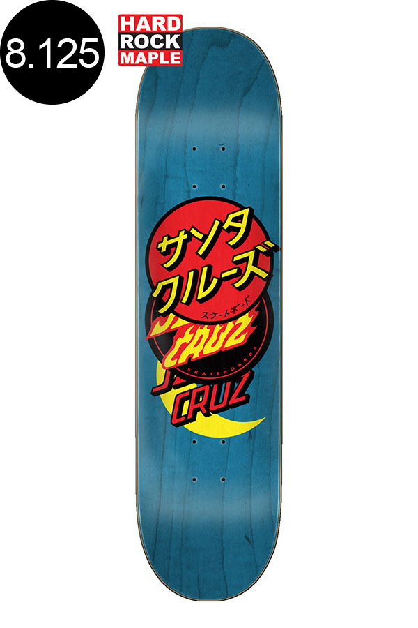 【SANTA CRUZ サンタクルーズ】8.125in x 31.7in GROUP DOT TEAM DECKデッキ スケートボード スケボー ストリート sk8 skateboard【2008】