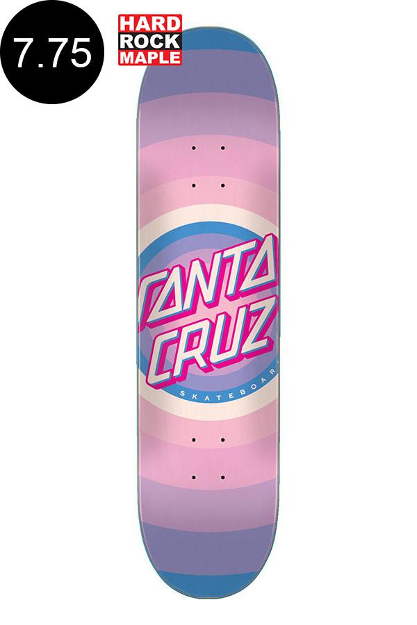 【SANTA CRUZ サンタクルーズ】7.75in x 31.4in GLEAM DOT TEAM DECKチームデッキ スケートボード スケボー ストリート sk8 skateboard【2008】