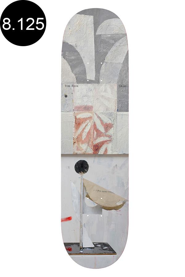 【ISLE アイル】8.125inch TOM KNOX SCULPTURE SERIES DECKデッキ トム・ノックス アート スケートボード スケボー ストリート sk8 skateboardデッキテーププレゼント!【2007】