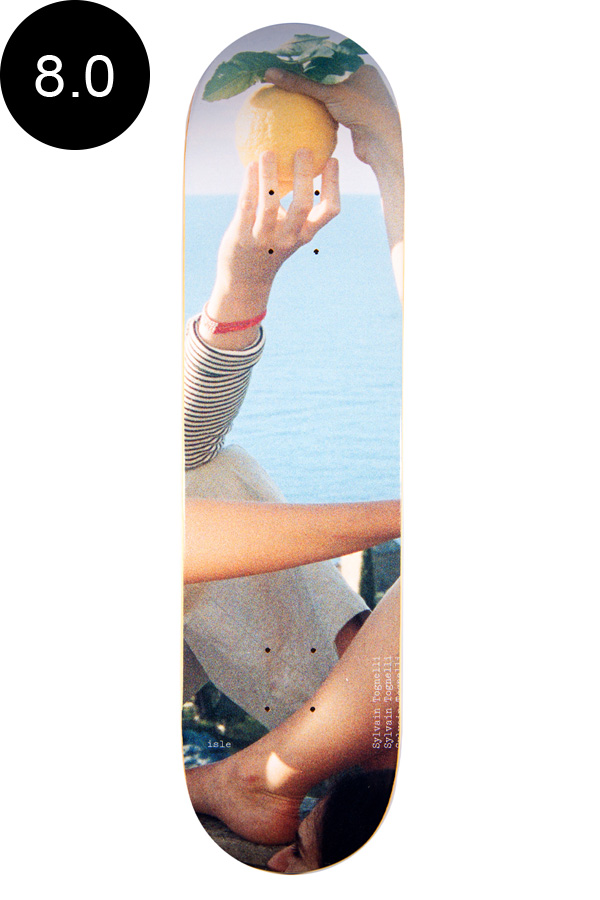 【ISLE アイル】8.0inch SYLVAIN TOGNELLI JENNA WESTRA SERIES DECKデッキ シルヴァイン・トグネリ スケートボード スケボー ストリート sk8 skateboardデッキテーププレゼント!【2007】