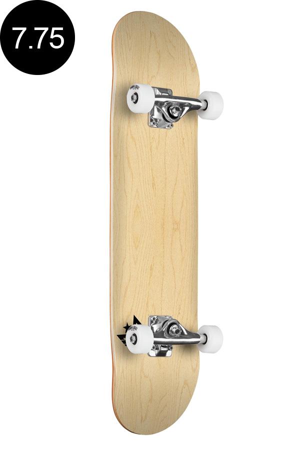 【MINI LOGO ミニロゴ】7.75in x 31.75in CHEVRON SKATEBOARD COMPLETE NATURALコンプリート(完成組立品)ナチュラル 木目 ブランク 無地 初めて オススメ 初心者 スケートボード スケボー sk8 skateboard 【1812】