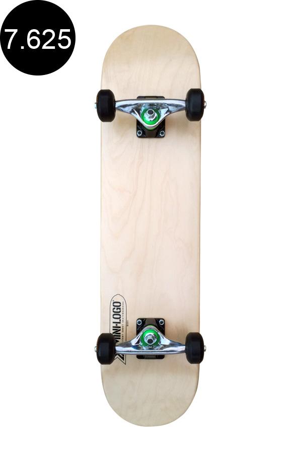 【MINI LOGO ミニロゴ】7.625in x 31.625in SMALL BOMB COMPLETE NATURALコンプリート(完成組立品)ナチュラル初心者 初めて オススメ スケートボード スケボー sk8 skateboard