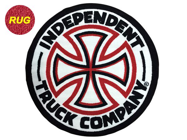 ロゴ 17HO Logo Round Rug スケ...