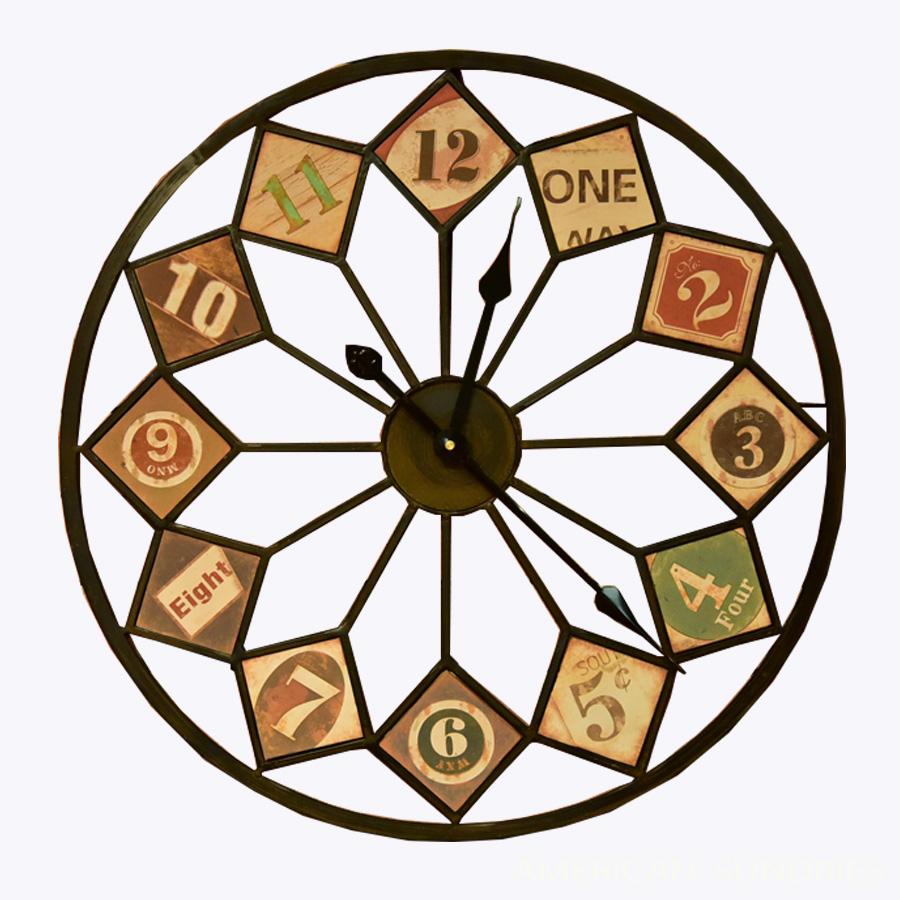 時計 掛け時計 アメリカン雑貨 雑貨 アメリカ雑貨 収納 アンティーク レトロ オブジェ ビンテージ ガレージ おしゃれ