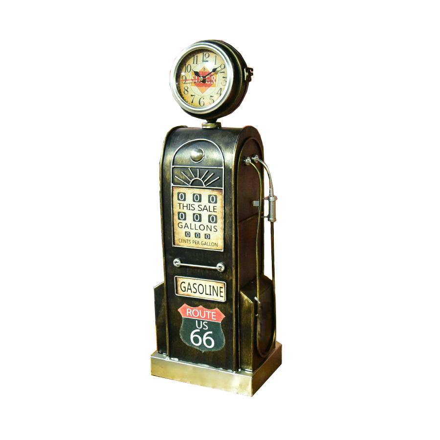 時計 置時計 アメリカン雑貨 雑貨 アメリカ雑貨 アンティーク レトロ オブジェ ビンテージ ルート66 ガレージ