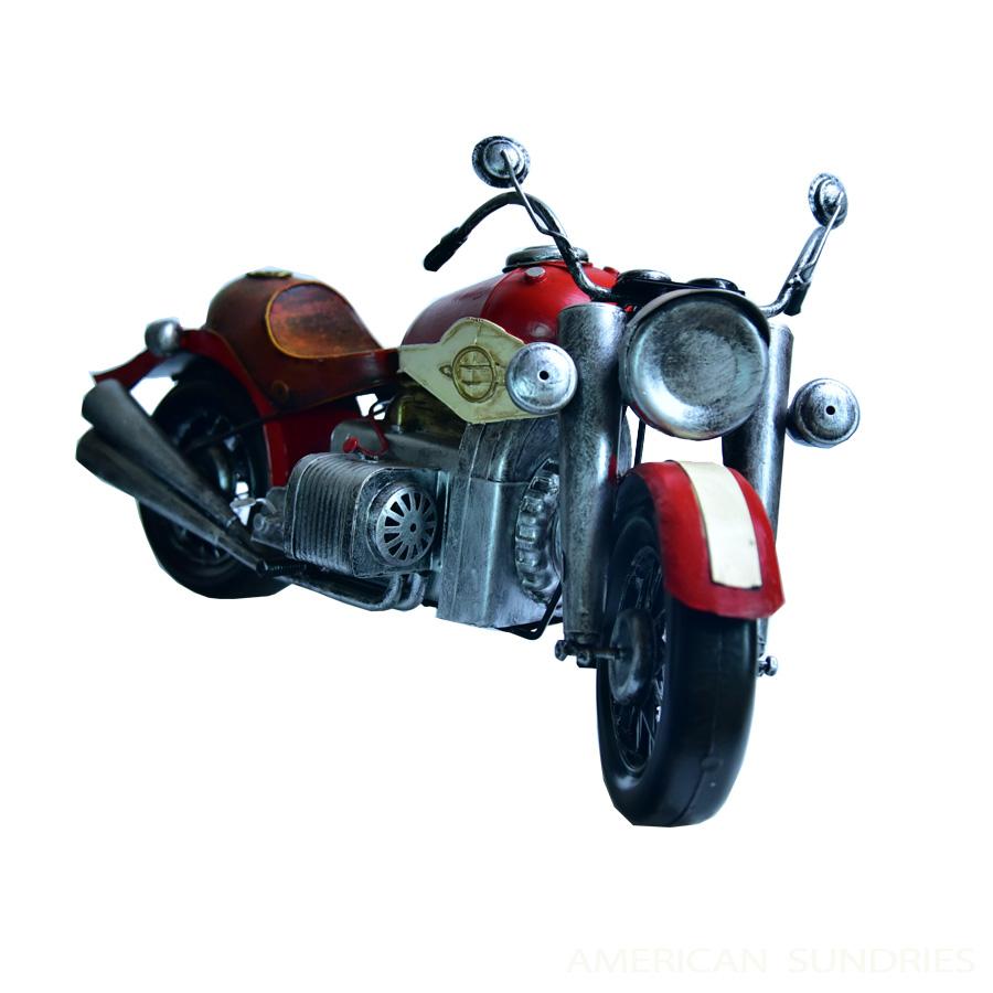ブリキのおもちゃ 置物 アメリカン雑貨 ヴィンテージ オブジェ インテリア小物 レトロ アンティーク アメリカンバイク