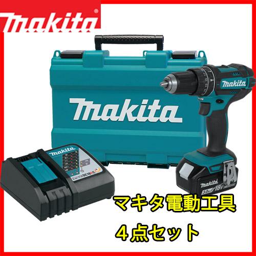 マキタ ドリル ドライバー 急速 充電器 DC18RC バッテリー BL1830 専用ケース 18V 4点セット
