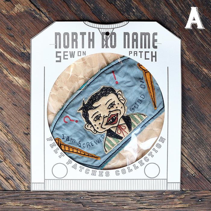 NORTH NO NAME ノースノーネーム / 「HAND MADE FELT - PATCH」 ハンドメイドフェルトワッペン