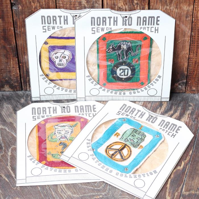 全4種 送料無料 NORTH NO NAME ポイント消化 ノースノーネーム HAND MADE FELT