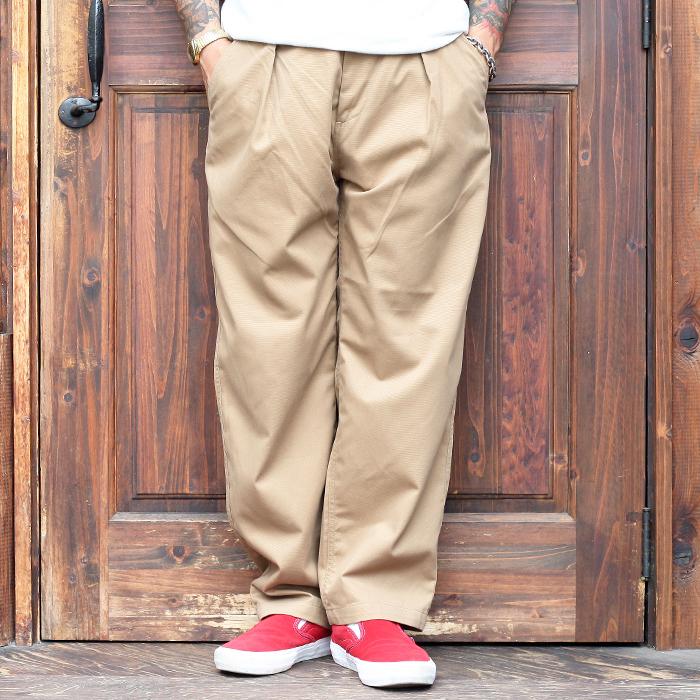 全4色 送料無料 WEIRDO 正規取扱店 ウィアード W L 購入 UP - TACK PANTS MEN'S メンズ タックパンツ リフトアップ カジュアル ワンタック パンツ アメカジ 無地 LIFT 価格交渉OK送料無料