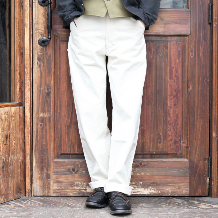 TROPHY CLOTHING トロフィークロージング / 「1805 Standard Brownie Duck」 オリジナルダックワークパンツ / MEN'S メンズ / パンツ / ワンウォッシュ / 無地 / ワーク / カジュアル / アメカジ